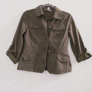 Ann Taylor Loft Military Jacket